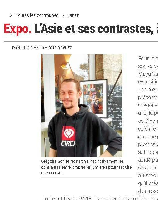 Expo. L_Asie et ses contrastes, à «La Fée bleue» - Dinan - LeTelegramme.fr
